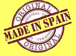 logo Made in Spain fondo geel